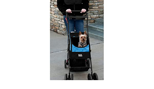 Amazon.com: CARRIOLA para MASCOTA PET GEAR modelo TRAVEL SYSTEM II color Blue: Health & Personal Care