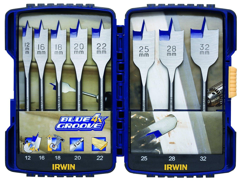 Irwin 4X Blue Groove Flat Bit 32Mm IRW10502820