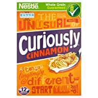 Nestle Curiously Cinnamon Cereal, 375g