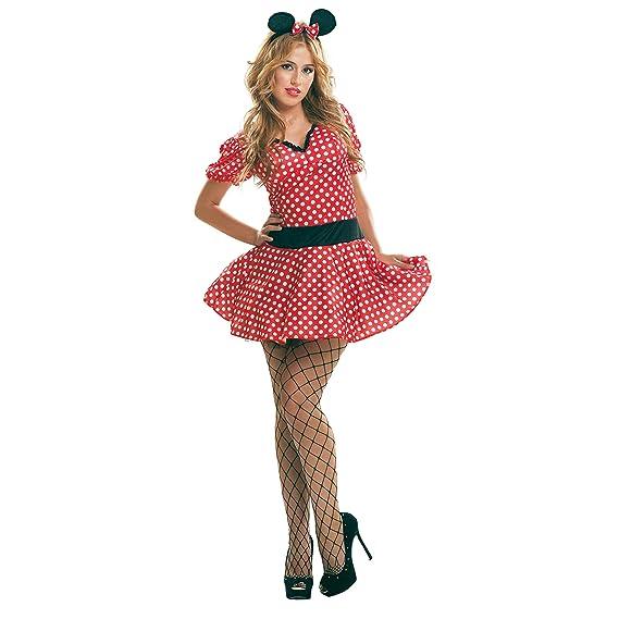 Disfraz de ratoncita sexy, disfraz minnie sexy para fiesta