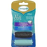 Amopé Pedi Perfect Mixed Pack Roller Heads Ultra Coarse Regular Coarse 2 refills