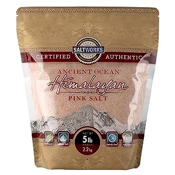 Ancient Ocean Himalayan Pink Salt, Fine Grain from SaltWorks