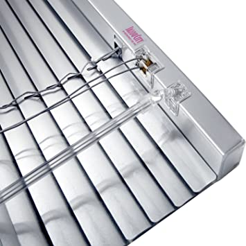 JalouCity Klemmfix Aluminium Jalousie ohne Bohren inkl. Jalou-Klicks ...