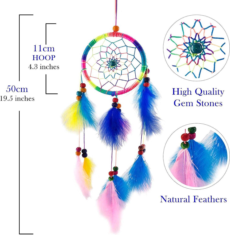 - Amazon.com: Dream Catchers For Bedroom Decor – Multi Color Native