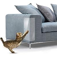 WeTest - Protector de arañazos para muebles de vinilo flexible transparente, Transparente, 20 x 5.9 inch