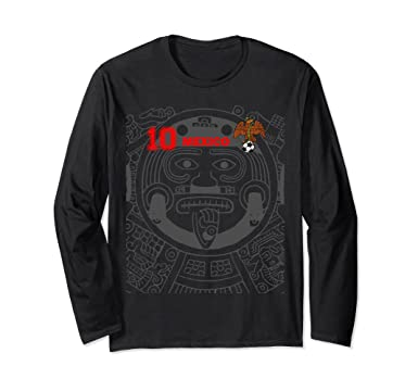 Unisex MEXICO SOCCER JERSEY SHIRT FUTBOL AZTEC RETRO CAMISETA Small Black