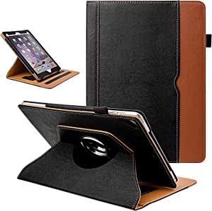 Grifobes Rotating Case for iPad 8th Generation / iPad 7th Generation,360 Degree Rotating Stand Smart Protective Case with Auto Wake/Sleep for iPad 10.2 inch 2020/2019,Black