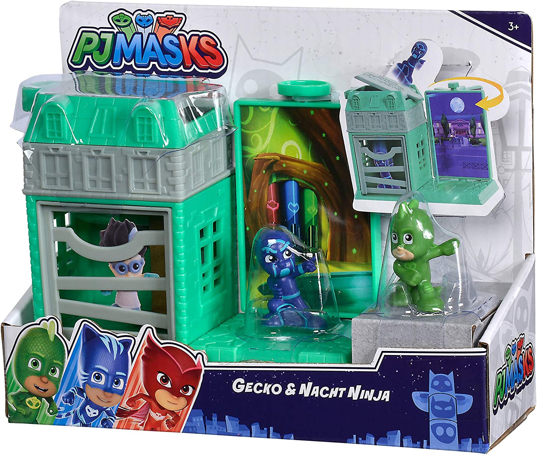 Simba- PJ Masks - Juego de Minifiguras de Gecko (109402469 ...