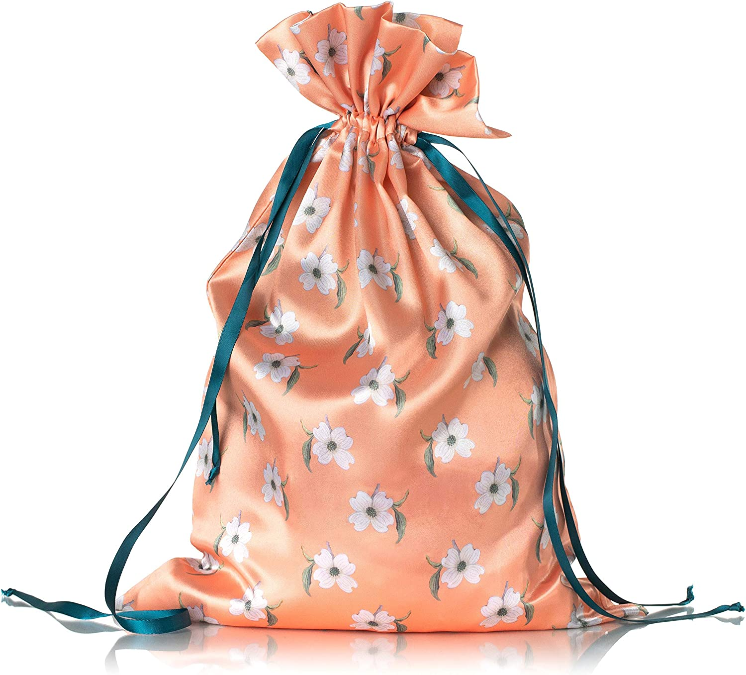 Pink Lava Honey Minx by Nicole Richie Womens Eva Intimates Drawstring Bag Lightweight Satin Travel Essential Keep Clothing from Snagging