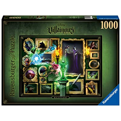 Ravensburger Disney Villainous Maleficent 1000 Piece Jigsaw Puzzle for Adults – Every Piece is Unique, Softclick Technology Means Pieces Fit Together Perfectly: Toys & Games