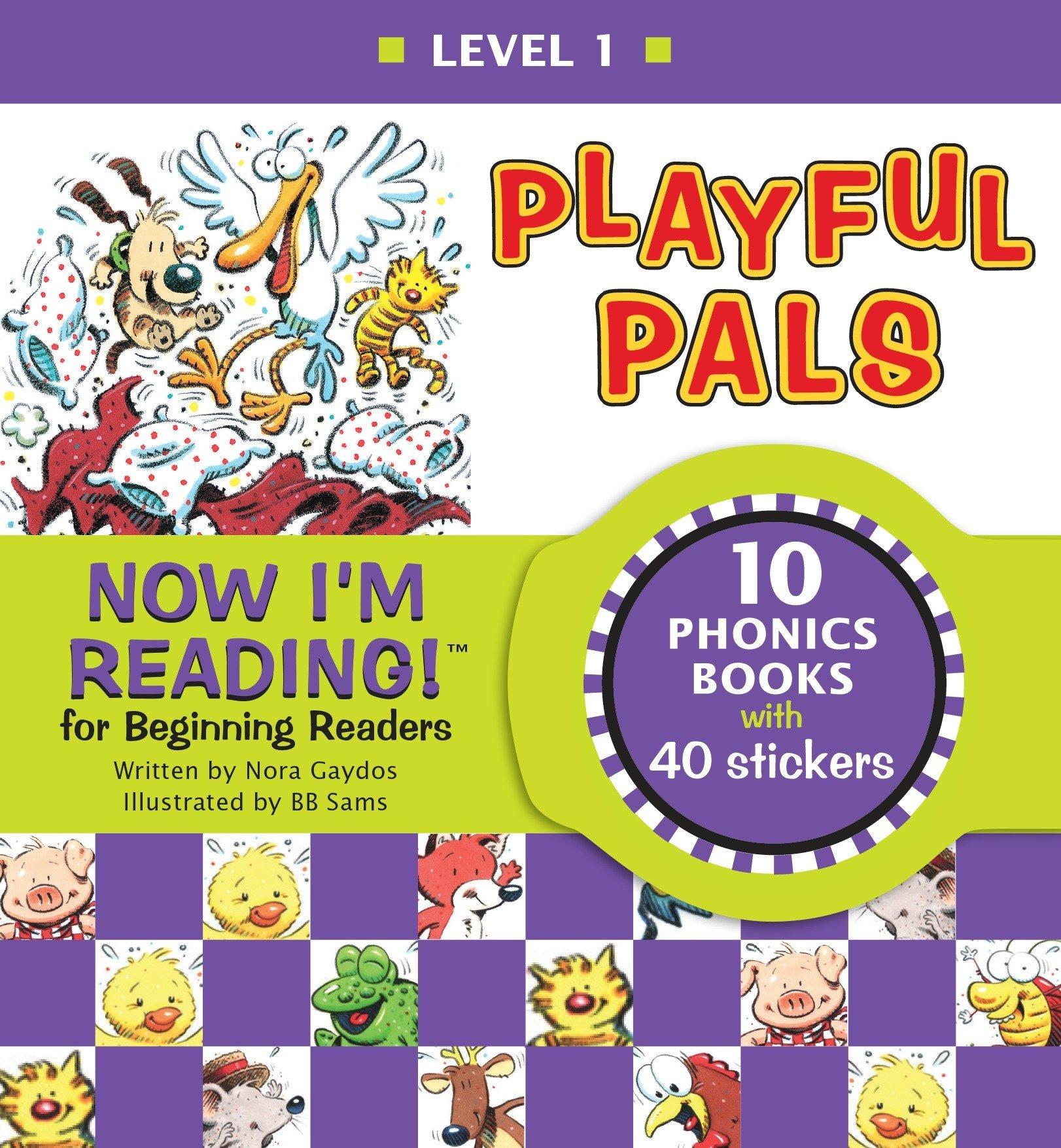 Read Online Now I'm Reading! Level 1: Playful Pals (NIR! Leveled Readers) PDF