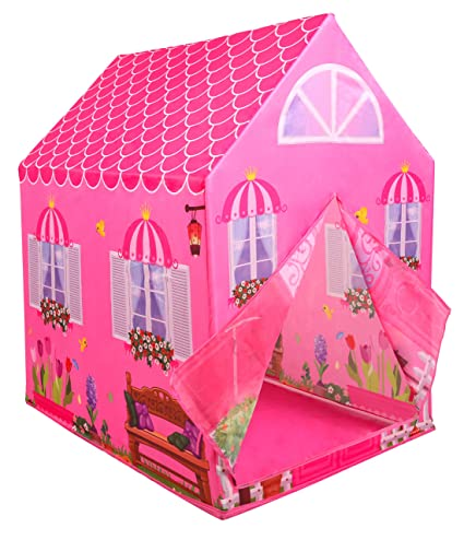 new style bfc3d fb4dd Kiddie Play Princess Playhouse Kids Play Tent for Boys & Girls Indoor  Outdoor Toy