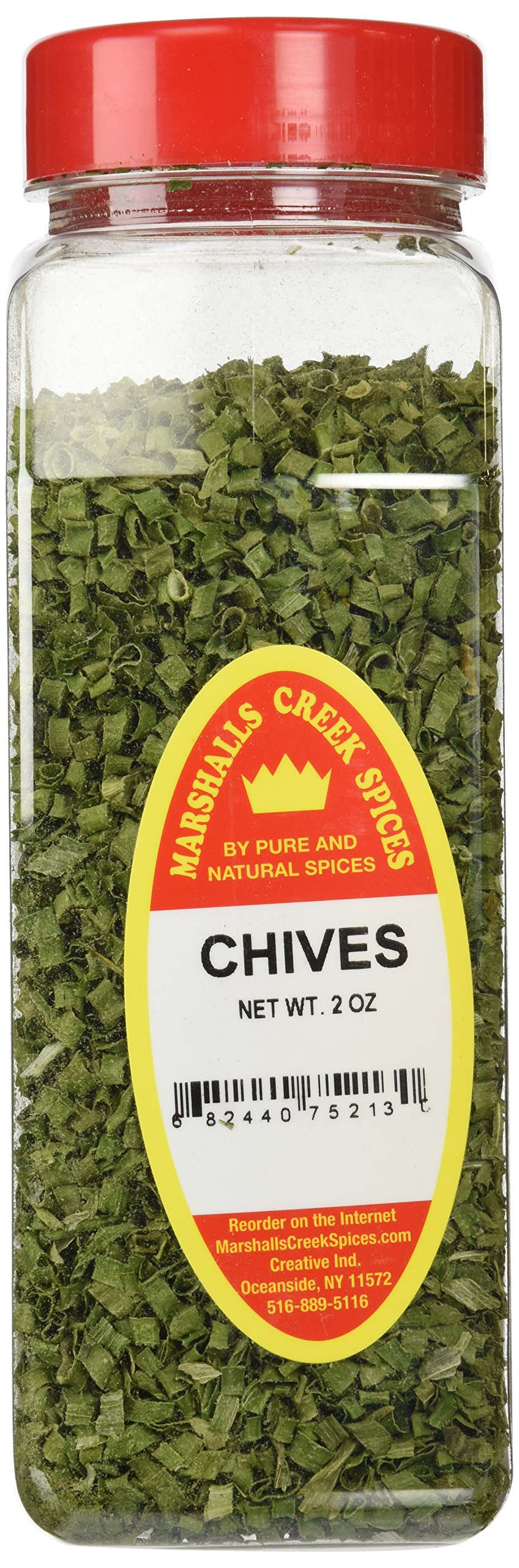 Marshalls Creek Spices X-Large Size Chives Spices, 2 Ounces
