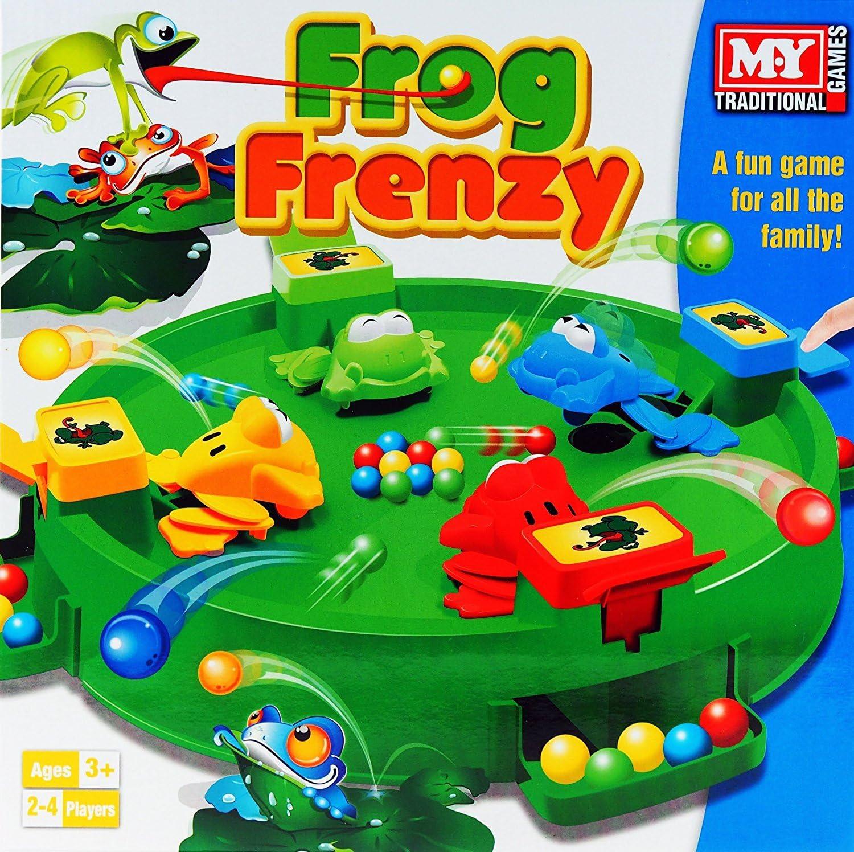 Frog Frenzy Family Juego de mesa Juguete - 3 años +: Amazon.es ...
