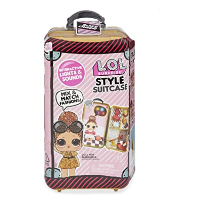 L.O.L. Surprise! Style Suitcase Electronic Playset - Boss Queen, Multicolor: Toys & Games
