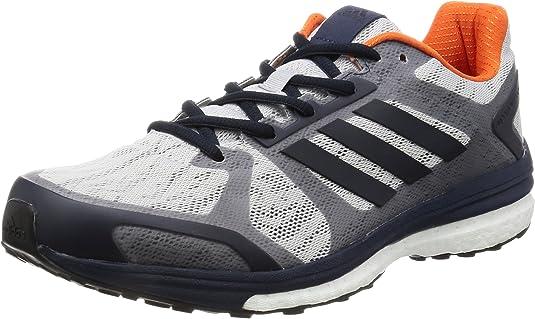 adidas BB1612, Zapatillas de Running Hombre, Gris (Lgh Solid Greynight Navymidnight Grey), 41 1/3 EU: Amazon.es: Zapatos y complementos