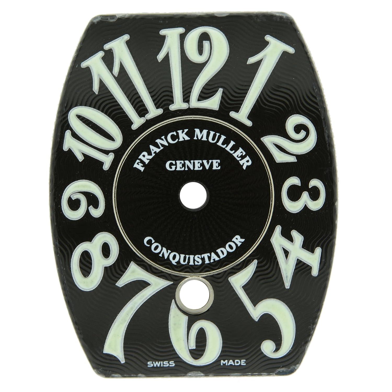 Franck Muller Eroberer schwarz und Luminor Armbanduhr Zifferblatt 25 x 15 mm