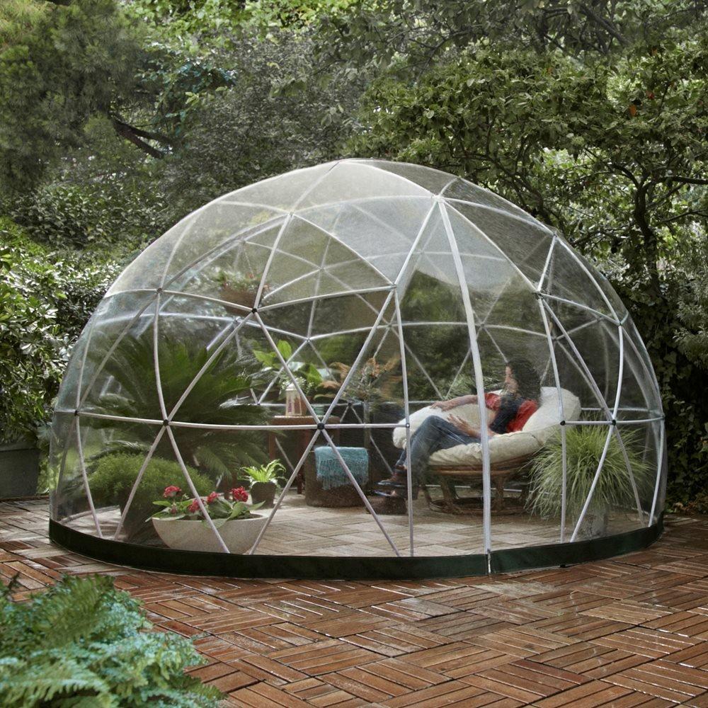 Die Garten Iglu 360Dome mit PVC Wetterfester Bezug