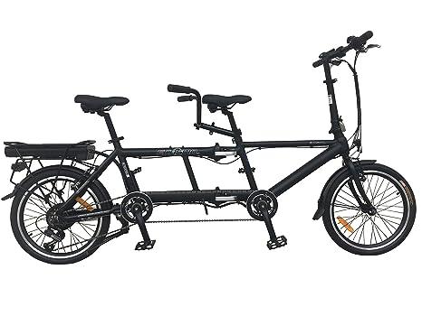 Ecosmo Ebike Bicicletta Elettrica Pieghevole In Lega Da 508 Cm