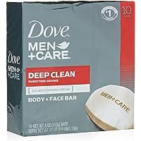 Dove Men+Care Body and Face Bar 4 oz (10 Bar)