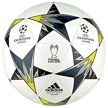 3ff1a52e694e1 Champions League - Balón fútbol Champions League Final 2018 - Tamaño 5   Amazon.es  Deportes y aire libre
