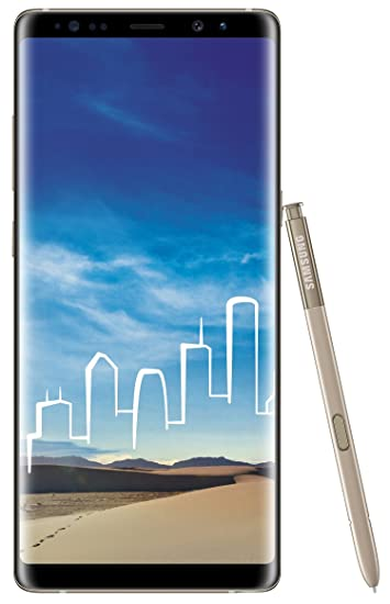 12c63d03b26 Samsung Galaxy Note 8 (Maple Gold, 64GB) Without Offer: Amazon.in:  Electronics