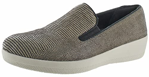 911c3d77e57c3 Fitflop Superskate Lizard Print Shoes Brown  Amazon.co.uk  Shoes   Bags