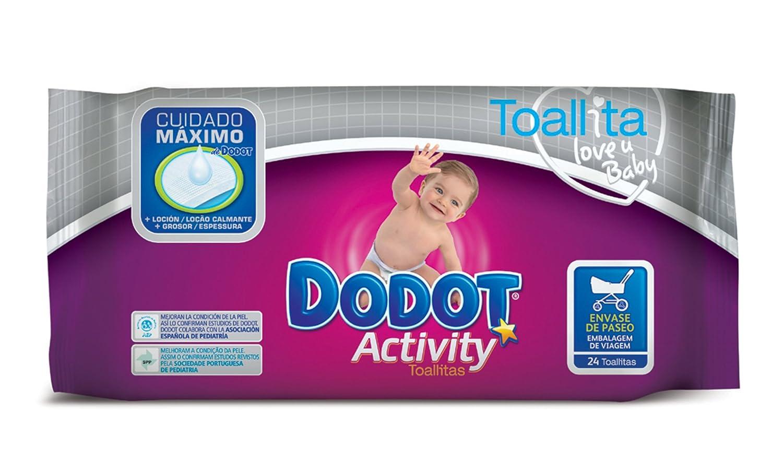 Dodot - Activity - Toallitas recambio - 24 toallitas - [Pack de 11]: Amazon.es: Salud y cuidado personal
