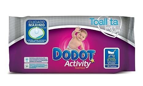 Dodot Activity - Toallitas recambio, 24 unidades