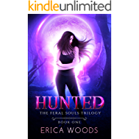 Hunted: A Reverse Harem Shifter Romance (The Feral Souls Trilogy - Book 1) book cover