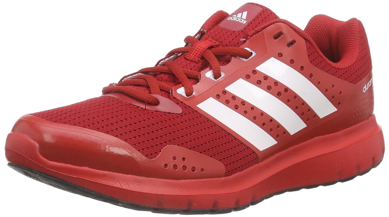 Adidas Duramo 7 M - Zapatillas de Running, Hombre 43 1/3 EU|Multicolor (Rojo / Blanco)