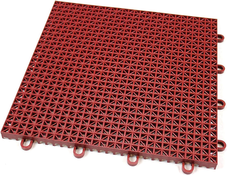 IncStores Outdoor Patio Interlocking Rugged Grip-Loc Tiles