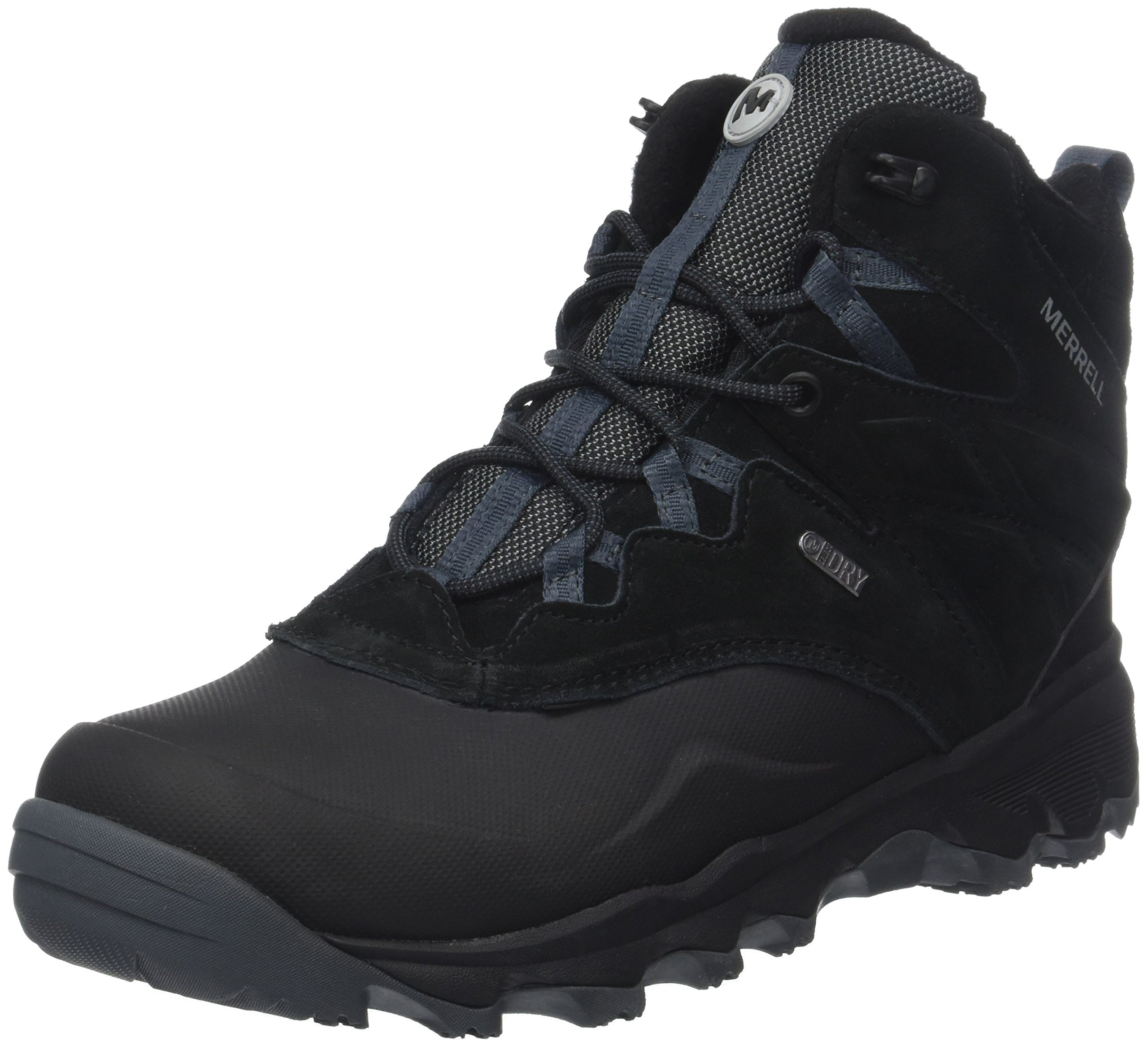 Merrell Men's Thermo Shiver 6'' Waterproof Snow Boot, Black, 11 M US