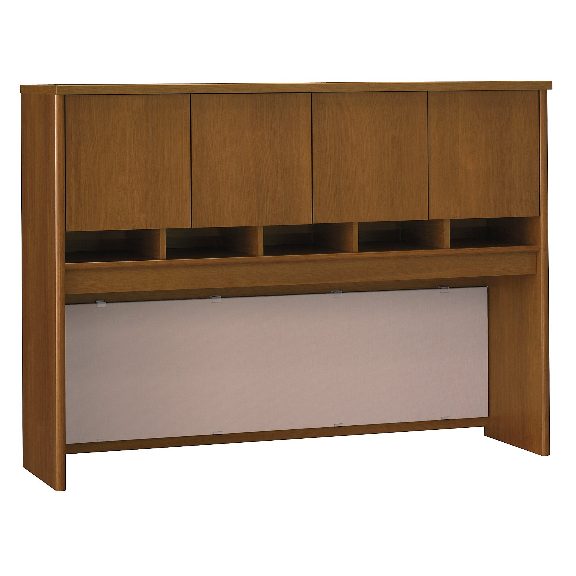 Bush Business Furniture Series C Collection 60W Hutch in Warm Oak