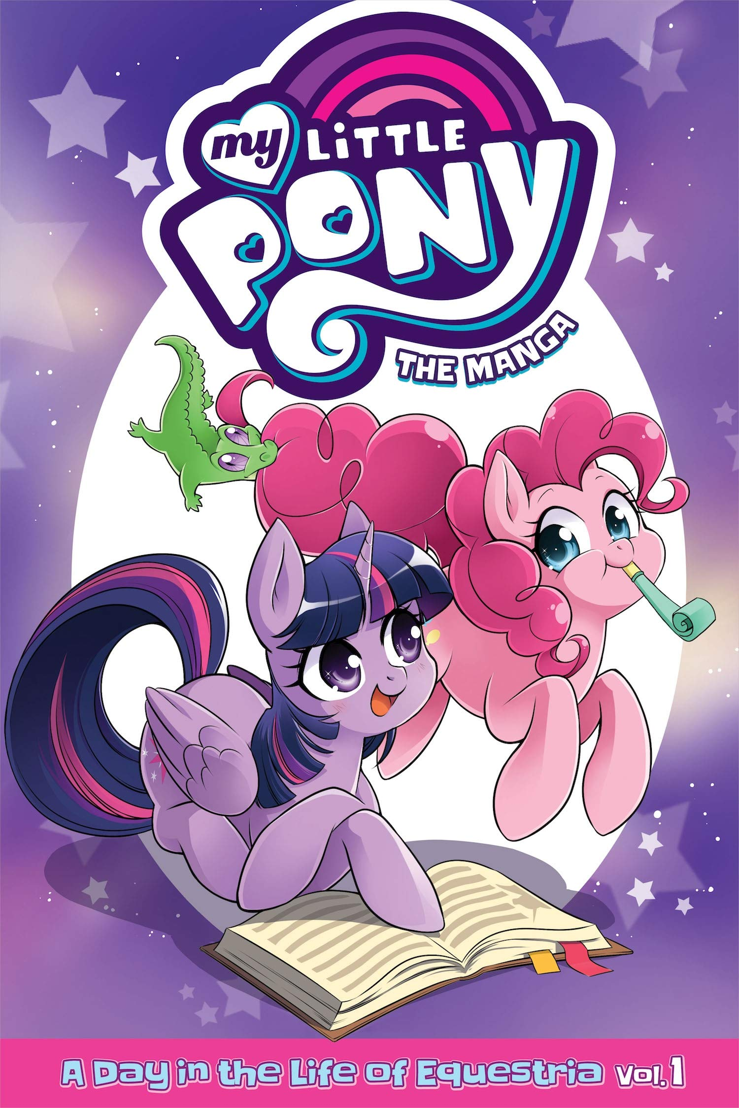 MY LITTLE PONY MANGA 01 DAY IN LIFE EQUESTRIA (My Little Pony: The Manga - A Day in the Life of Equestria)