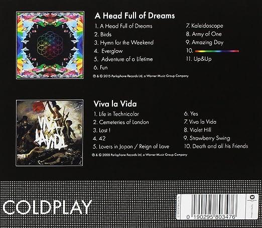 Coldplay - A Head Full Of Dreams & Viva La Vida : Coldplay, Coldplay: Amazon.es: Música