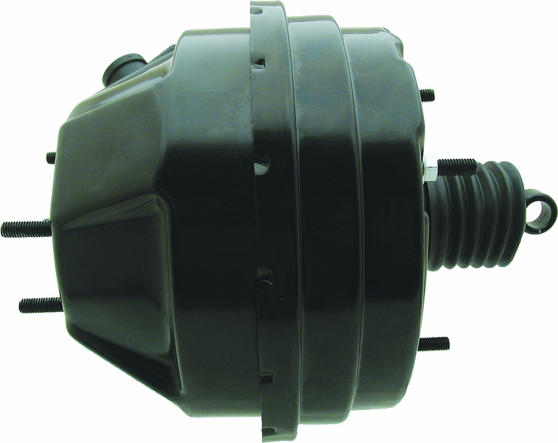 "PB7537PC 7/"" Dual Diaphragm Black Powder Coated Brake Booster"