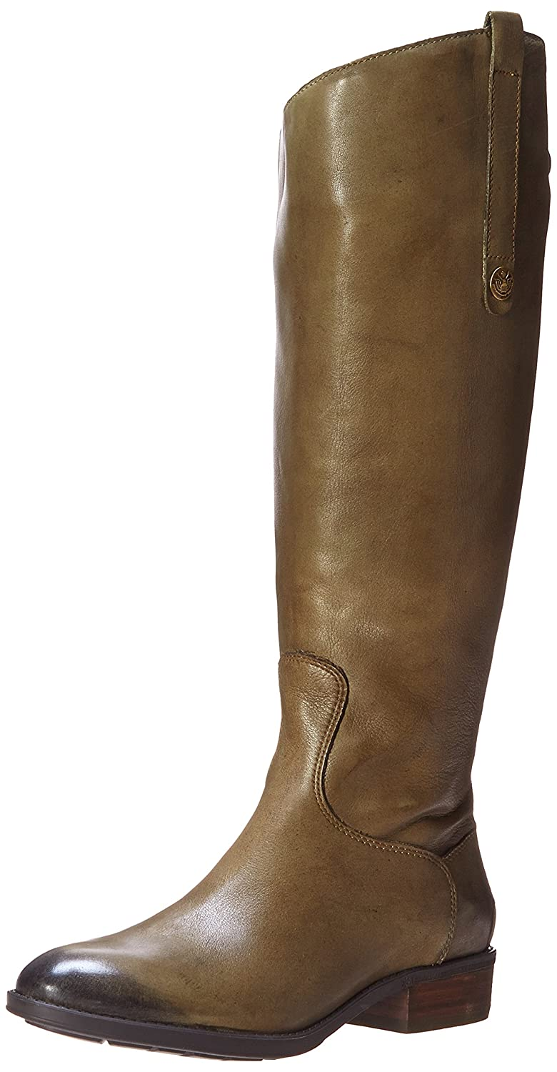 Olive Sam Edelman Women's Penny 2 Wide Shaft Riding Boot