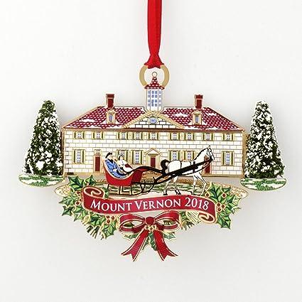 Amazon.com: Mount Vernon 2018 Annual Ornament: Home & Kitchen