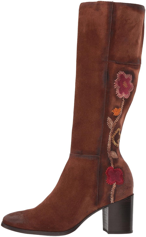 FRYE Boot Women's Nova Flower Tall Boot FRYE B06XDSTXJH 8 B(M) US|Brown 068ea6