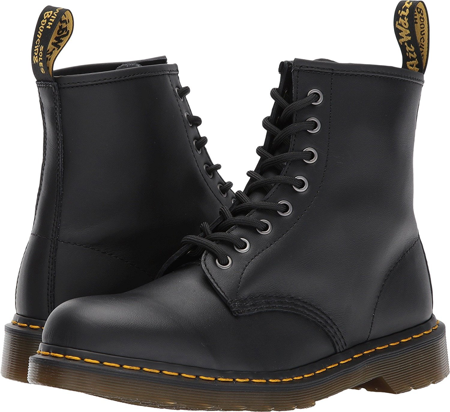 Dr. Martens Men's 1460 Combat Women/7.5 Boot, 8.5 B(M) US Women/7.5 Combat D(M) US Men B01N9XG5FR 5 M UK|Black Softy T 048c52