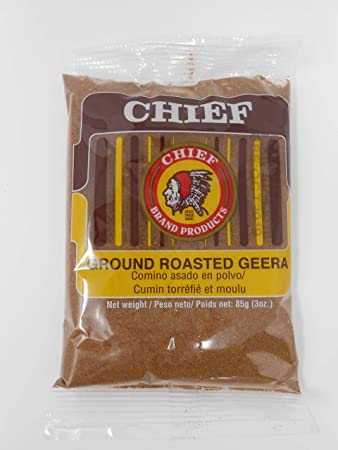 amazon com chief roasted geera 3oz cumin spices and herbs