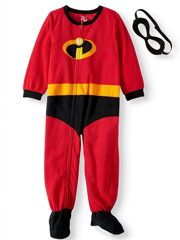 Disney Pixar Incredibles 2 Baby Boys Blanket Sleeper with Mask