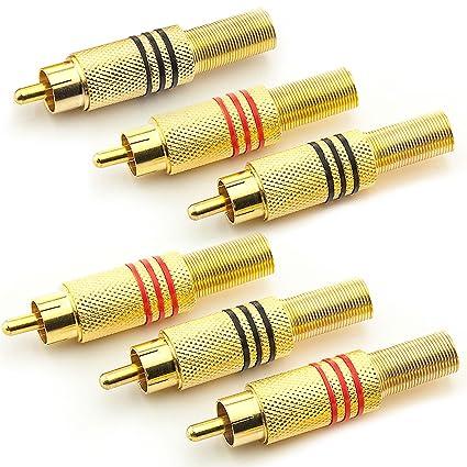 10x 2mm Messing Bananenbuchse Jack für Audio Kabel Stecker