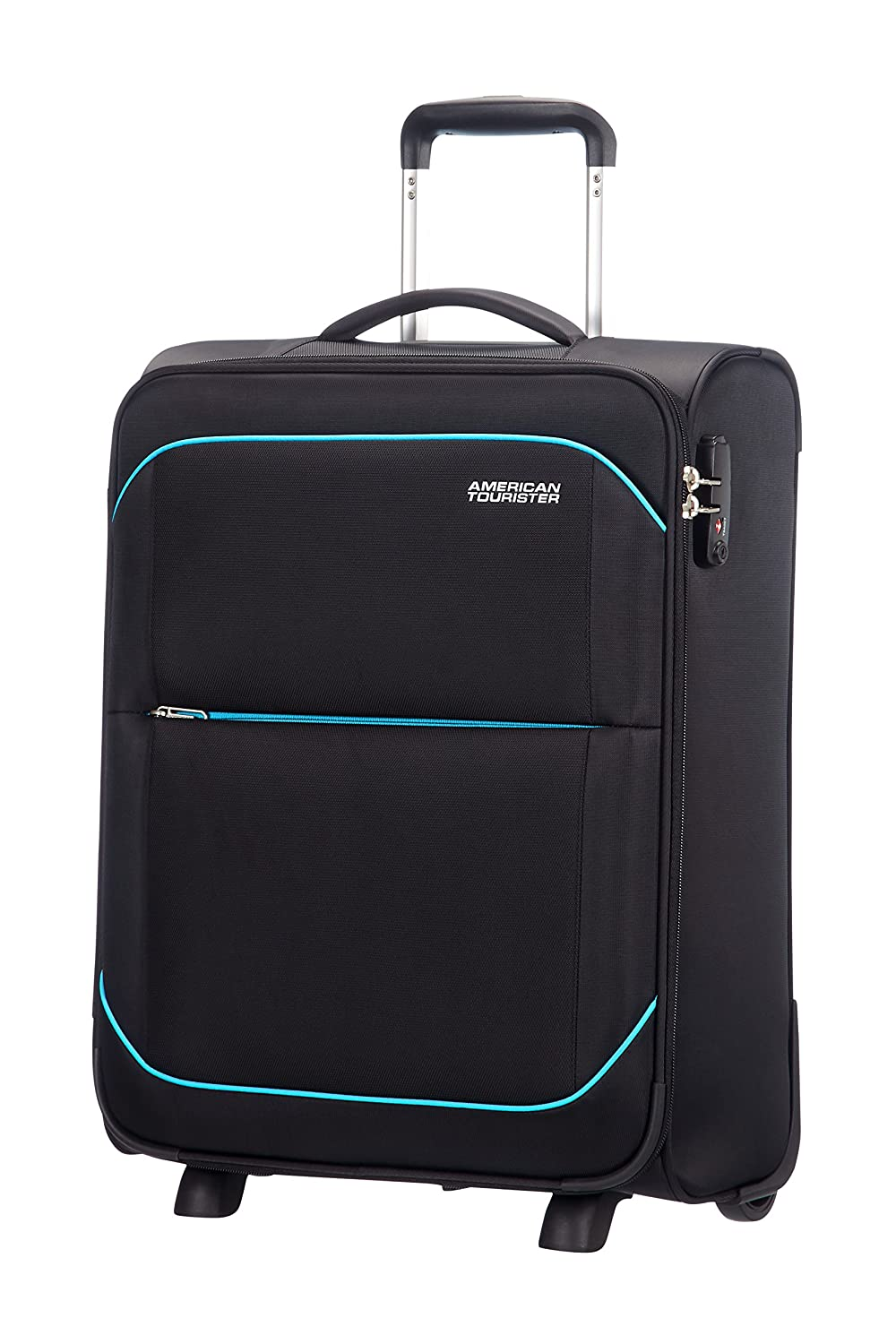 American Tourister Sunbeam upright ruedas  equipaje de mano negro after dark