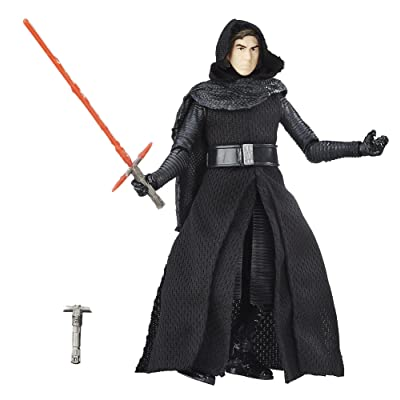 Star Wars The Black Series 6-Inch Kylo Ren Unmasked: Toys & Games