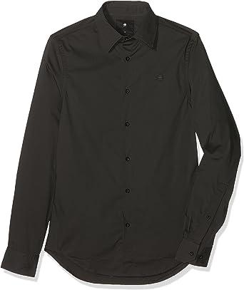 G STAR RAW Core Super Slim Shirt Chemise Casual, Gris