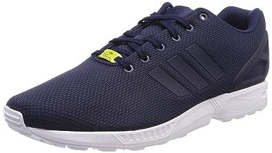 adidas Zx Flux, Sneakers Basses Mixte Adulte, Bleu (Dark Blue/Dark Blue