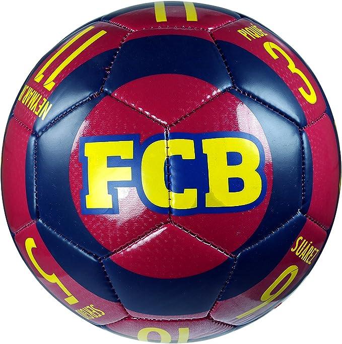 FC Barcelona Official Soccer Size 4 Ball /& Beanie Combo 18-1