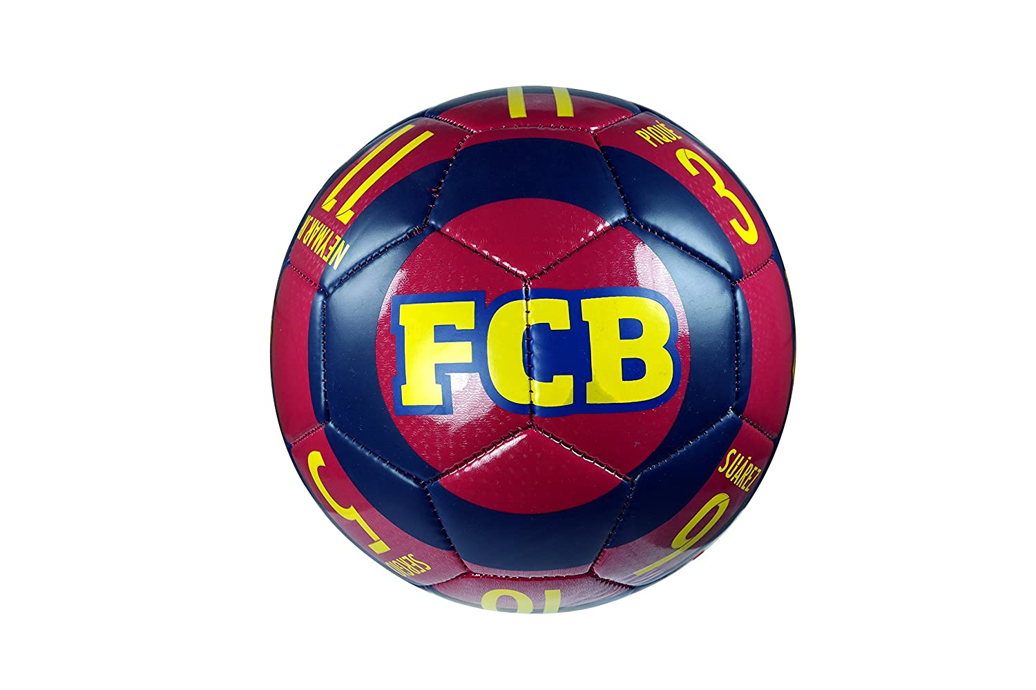 FC Barcelona Authentic Official Licensedサッカーボールサイズ4 – 06 – 3 B0765MB159